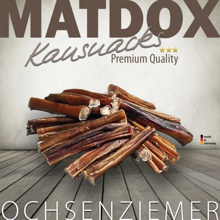 Premium Ochsenziemer Abschnitte ca. 12cm lang