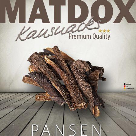 Premium Rinder Pansen Abschnitte 10-12cm